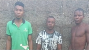 Three suspects cultists arrested for allegedly forcefully initiating members into their cult