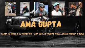 Kabza De Small & DJ Maphorisa – AMA GUPTA Ft. Marks Khoza, Reece Madlisa & Zuma