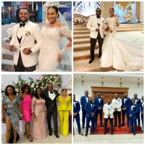 Photos Of Falz, Banky W, Rita Dominic, Ini Edo, Other Celebrities At William Uchemba