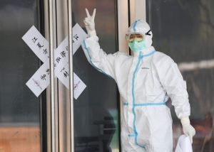 Wuhan reports no new coronavirus cases for the first time since the outbreak
