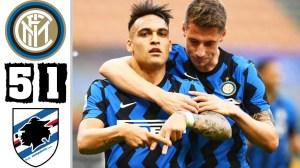 Inter vs Sampdoria 5 - 1  (Serie A Goals & Highlights 2021)