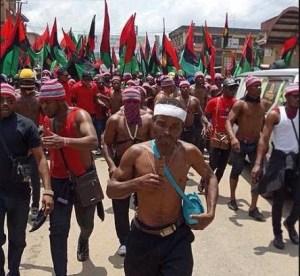 Governor's Convoy Held Hostage As 'IPOB Militants' Disrupt APGA Campaign In Anambra