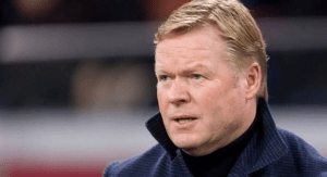 OMG!! Barcelona In Big Trouble As Koeman Cannot Take Charge Of An Official Match