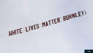 'White Lives Matter' Burnley fan Sacked From His Job After Etihad Stadium Plane Stunt