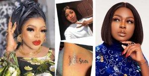 """Just Say You're Broke And We'll Understand"" – Bobrisky Blasts Ka3na Over Tattoo Saga"