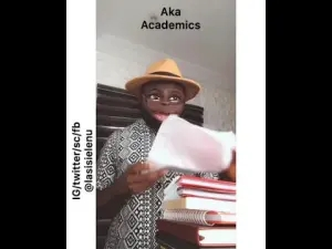 Lasisi Elenu - Difference Between Yankee  Lecturers And Naija Lecturers (Comedy Video)