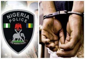 BACK TO JAIL!!! Police Arrest Ex-convict For Impersonating Soldier At Ogun Station