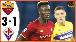 Roma vs Fiorentina 3 − 1  (Serie A  2021 Goals & Highlights)