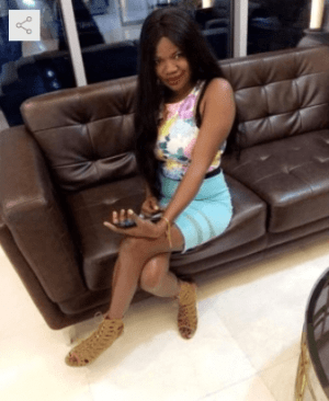 Hey! Meet Nigeria's First Banker P@rnstar - Lady Gold
