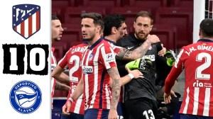Atletico Madrid vs Deportivo Alaves 1 - 0 (LA Liga  Goals & Highlights 2021)