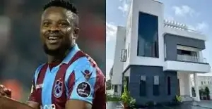 Super Eagles Player, Ogenyi Onazi Acquires Multi-Million Naira Mansion In Lagos (photo/video)