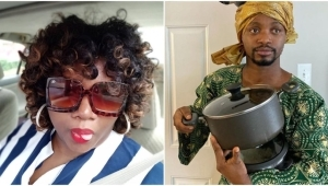 Mama Tobi Reacts As She Threatens To Slap Lady Who Condemned Cross-dressing Comedians