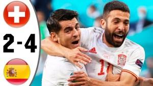 Switzerland vs Spain 1 - 1 (Pen 1-3) (EURO 2020 Goals & Highlights)