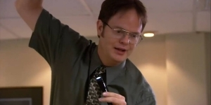 The Office Used A Live Bat For Famous Season 3 Episode