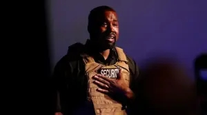 Kanye West breaks down in tears at his first presidential campaign while speaking about abortion and how he almost encouraged Kim to abort their daughter, North (Video)