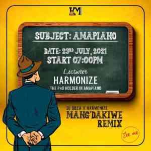 Dj Obza, Harmonize & leon lee – Mang'dakiwe Remix