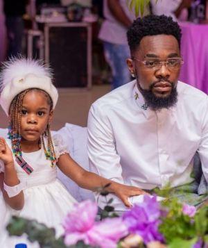 Singer, Patoranking Celebrates His Daughter As She Turns 3
