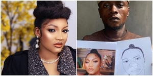 """You'll Be Locked Down"" – Omotola Jalade Shades Artist That Drew Her Portrait"