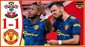 Southampton vs Manchester United  1 − 1 (Premier League  2021 Goals & Highlights)