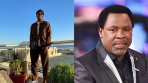 """""""You Never Judged Me Even When You Knew My Flaws"""" – Singer Victor AD Pens Touching Tribute To Late Pastor, TB Joshua"""