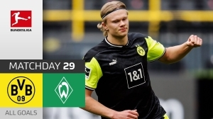 Dortmund vs Werder Bremen 4 - 1 (Bundesliga Goals & Highlights 2021)