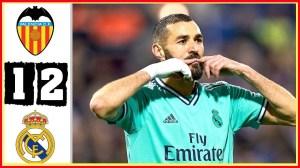 Valencia vs Real Madrid 1 - 2 (LaLiga 2021 Goals & Highlights)
