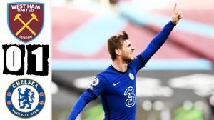 West Ham vs Chelsea  0 - 1 (Premier League  Goals & Highlights 2021)