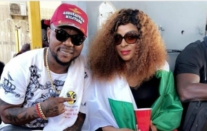 Singer Oritse And Wife Spotted At EndSars Protest
