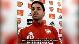 Mikel Arteta fires back at scathing Arsenal attack by Rwanda president