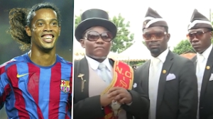 Coffin Dancer: I would like to Carry Ronaldinho to his Grave