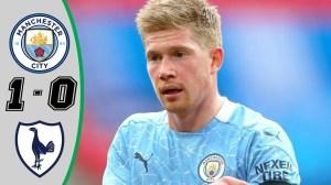 Manchester City vs Tottenham Hotspur 1 - 0 (League Cup  Final Goals & Highlights 2021)