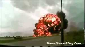 DOWNLOAD: THE VIDEO OF MALAYSIA AIRLINES FLIGHT CRASHES IN UKRAINE