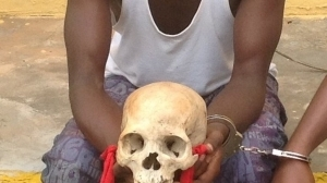 Police nab 3 with human skull in Lagos