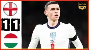 England vs Hungary 1 − 1 (2022 World Cup Qualifiers Goals & Highlights)