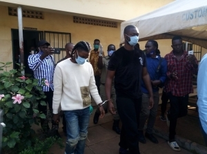 Watch As Omah Lay, Tems And Manager Were Handcuffed In Uganda (Video)