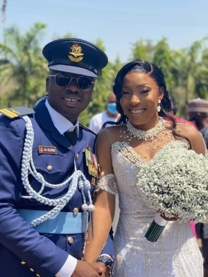 Revealed! Flight Lieutenant Who Was Killed In Kaduna Air Crash Just Got Married In February