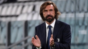 Juventus coach Pirlo happy top 4 chance alive