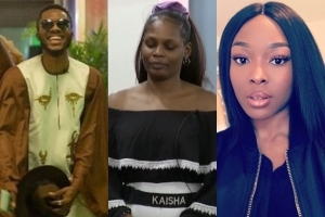 #BBNaija: Check Out Brighto's Response After Vee Said He Saw Him Marrying Kaisha In Her Dream (Video)