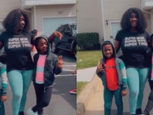 Mercy Johnson Engages Her Children In A Heated Dance Battle (Video)