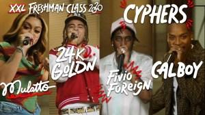 Fivio Foreign, Calboy, 24kGoldn and Mulatto - 2020 XXL Freshman Cypher (Video)