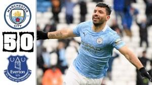 Manchester City vs Everton  5 − 0 (Premier League Goals & Highlights 2021)
