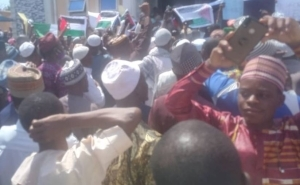 'Israel Is A Terrorist State' – Oyo Muslims Protest In Support Of Palestinians