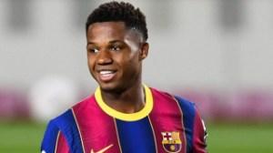 Barcelona winger Ansu Fati upbeat on surgery recovery