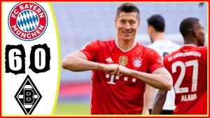 Bayern Munich vs Monchengladbach 6 − 0 (Bundesliga Goals & Highlights 2021)