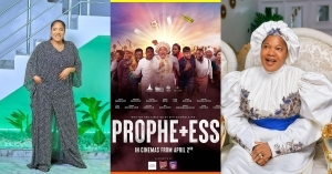 """Who De Shout?"" – Toyin Abraham Brags As 'Prophetess' Makes Over N43M In Opening Weekend"