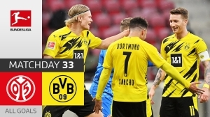 Mainz vs Dortmund 1 − 3 (Bundesliga Goals & Highlights 2021)