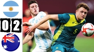 Argentina vs Australia 0 - 2  (Olympic 2021 Goals & Highlights)