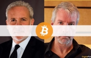 You Already Have More Than Enough Bitcoin: Peter Schiff Tells Michael Saylor