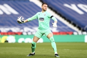 West Brom have reportedly slapped a £10m price tag on goalkeeper Sam Johnstone.