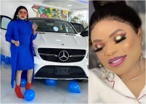 Bobrisky Purchases A Brand New Mercedes Benz Ahead of B'day Celebration (Photo/Video)